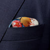 Eton Tennis & Floral Pocket Square