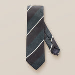 Eton Silk Diagonal Stripe Tie