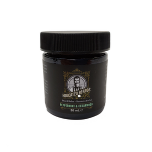 Educated Beards Peppermint & Cedarwood Beard Balm