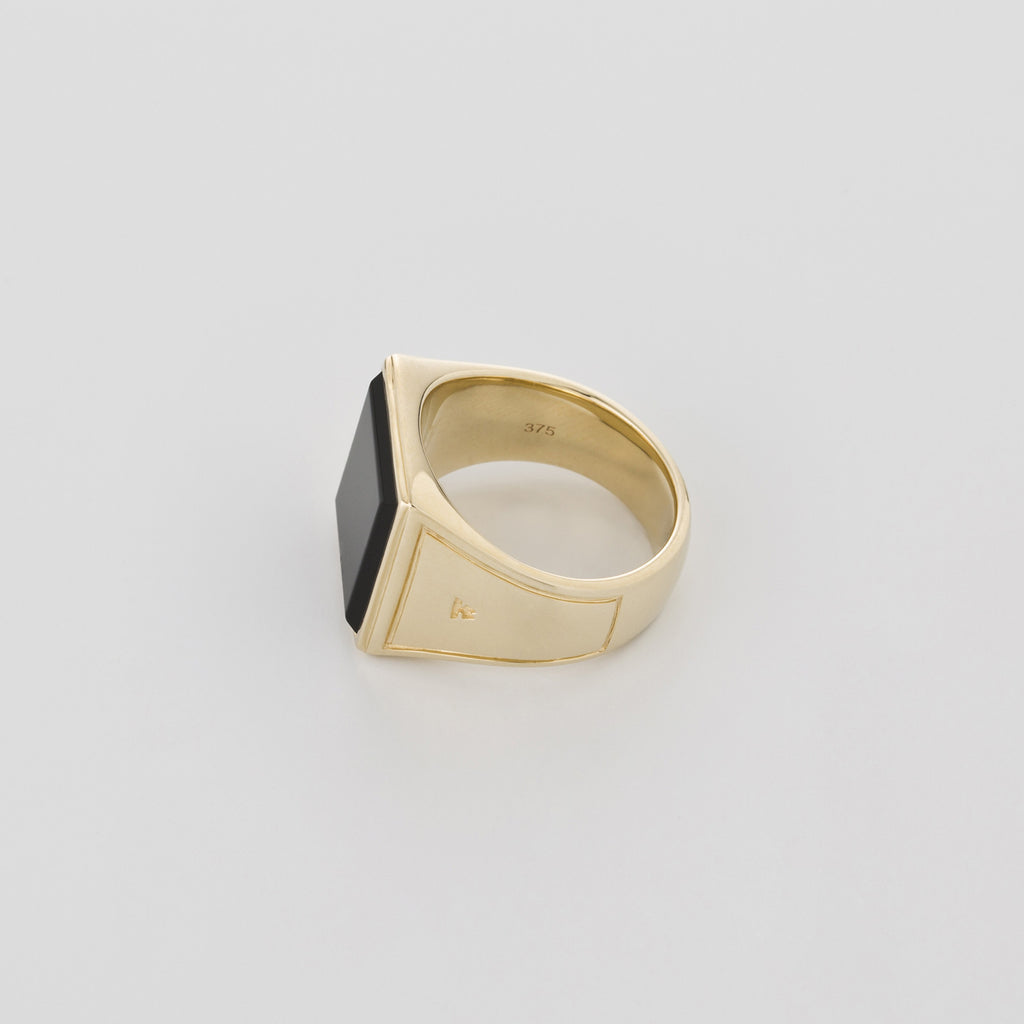 Square Gold Onyx