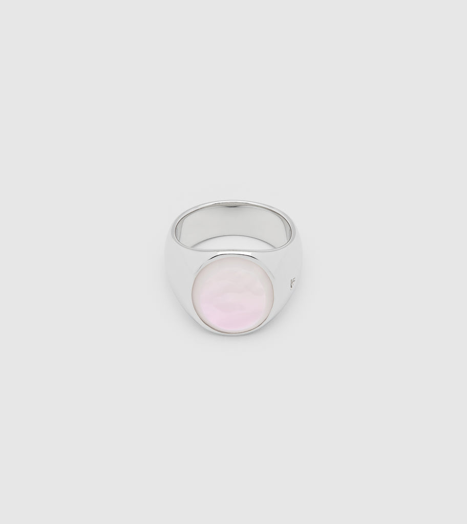 Tom Wood Oval White Mother Of Pearl Ring - White 5KGwqrYK