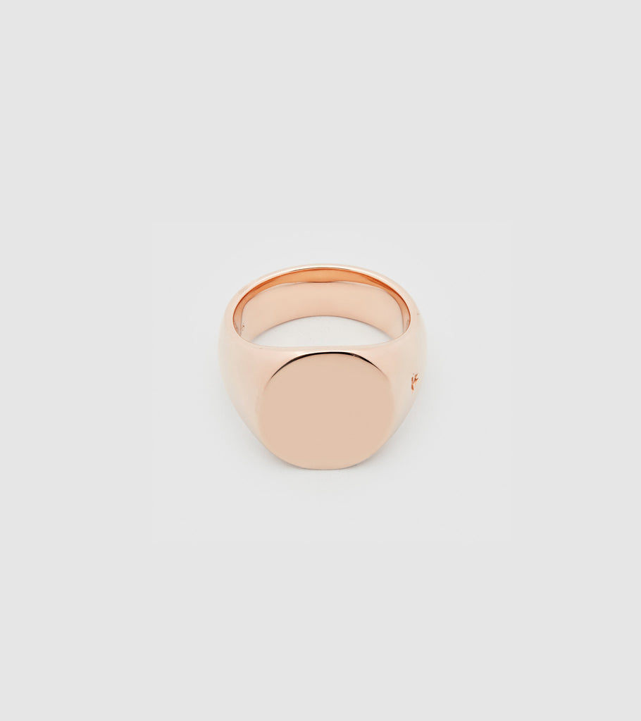 Oval Rose Gold
