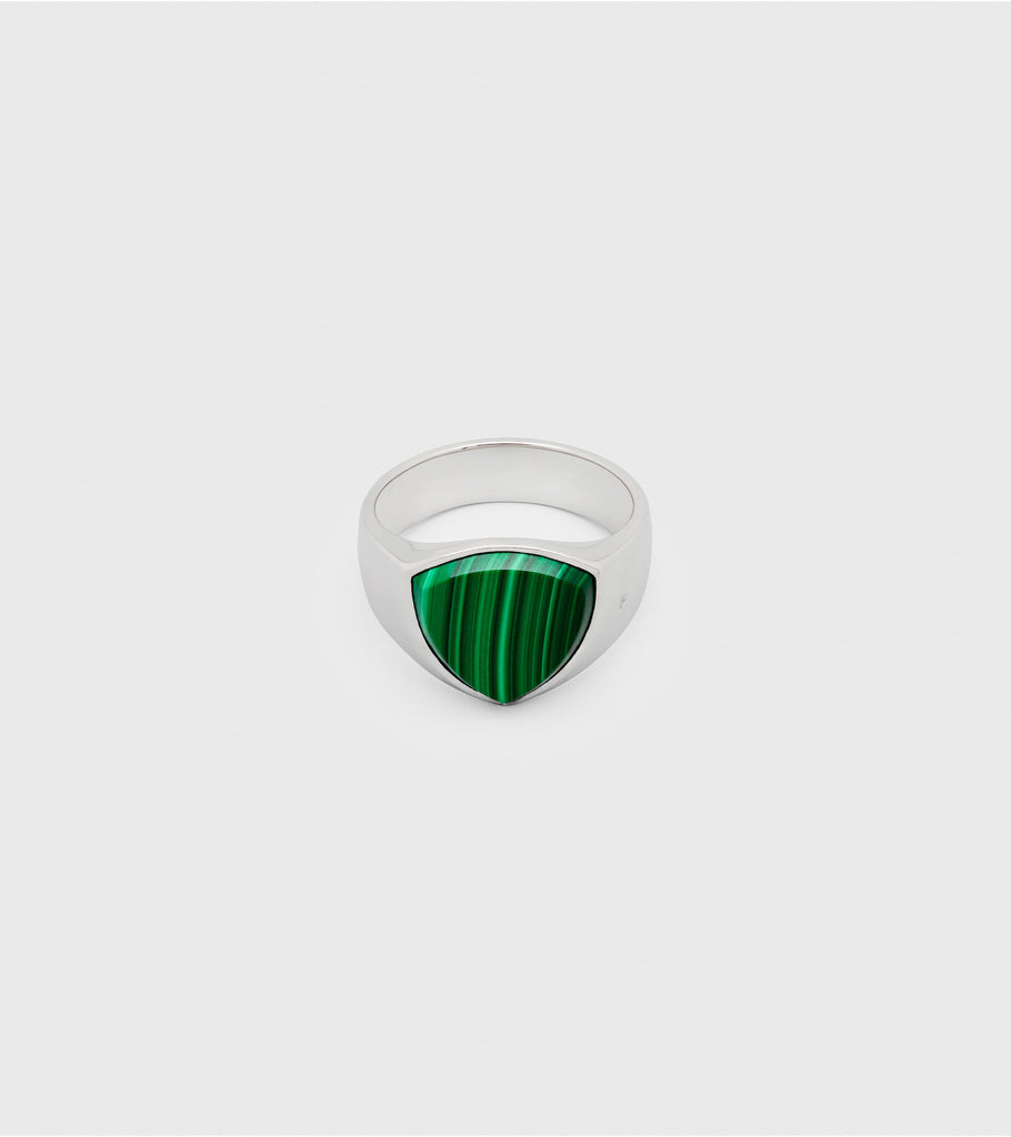Shield Green Malachite
