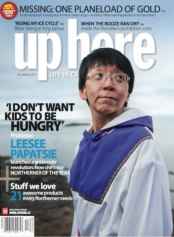 Up Here Magazine - 2012 December