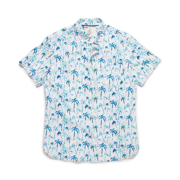Joey Palm Print Shirt