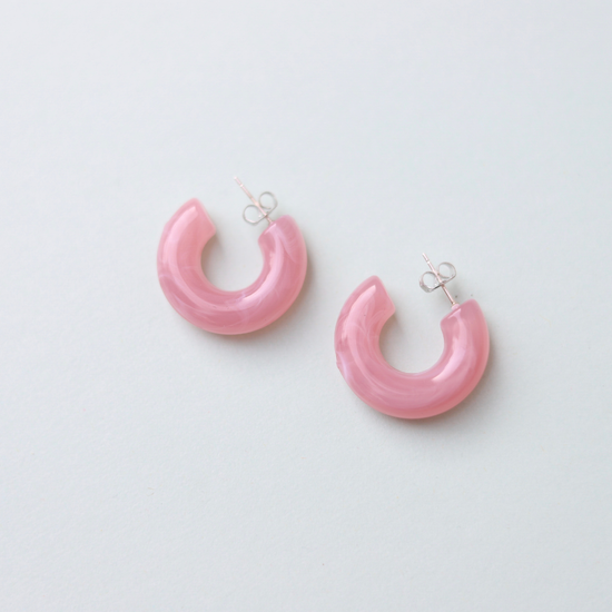 Tula Hoops In Pink