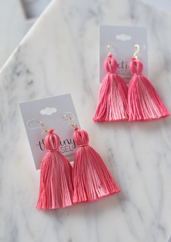 The Lilly Tassel Earring