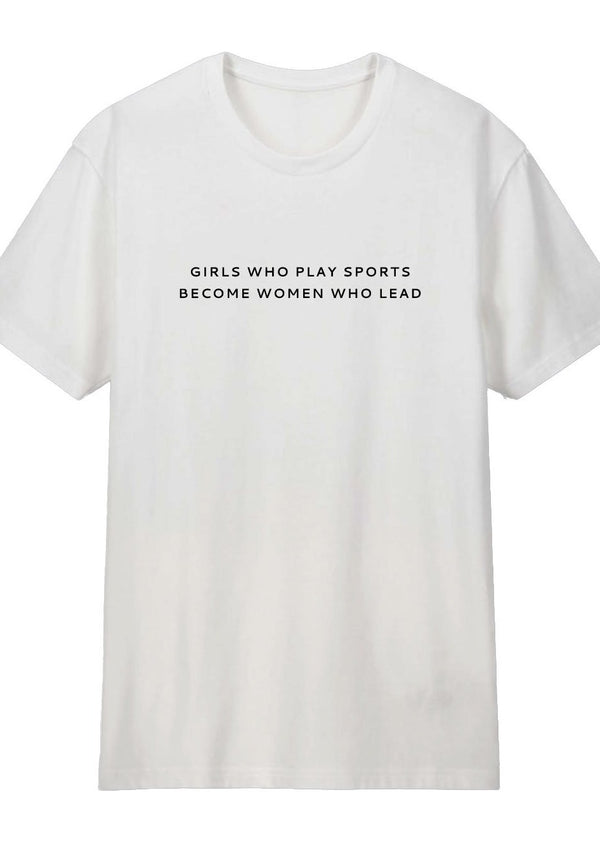 Girls Who Play Sports T-Shirt