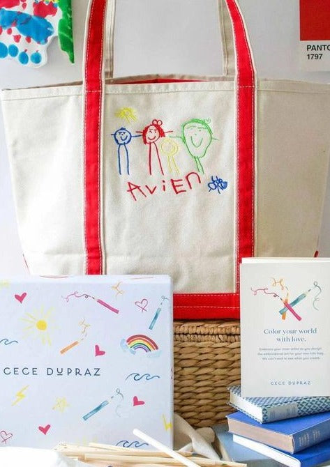 Draw Your Own Medium Tote Gift Set