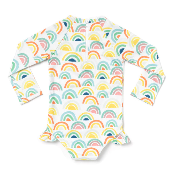 Multirainbow Rashguard One Piece