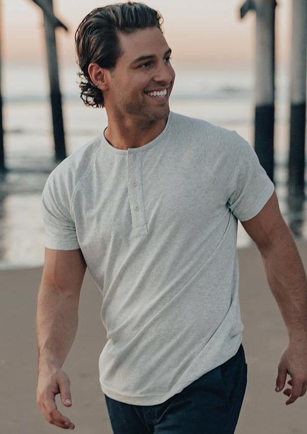 Short Sleeve Active Puremeso Henley