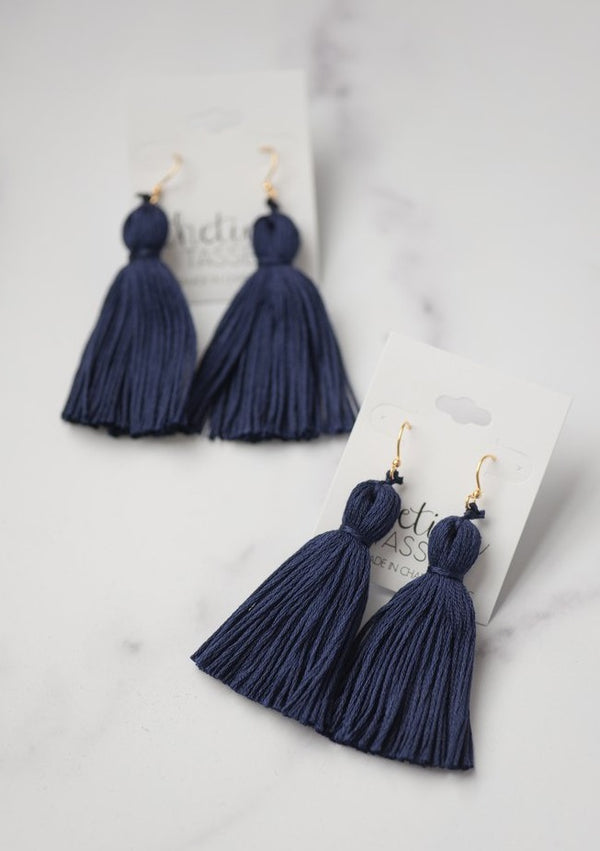 The Beaufain Tassel Earring