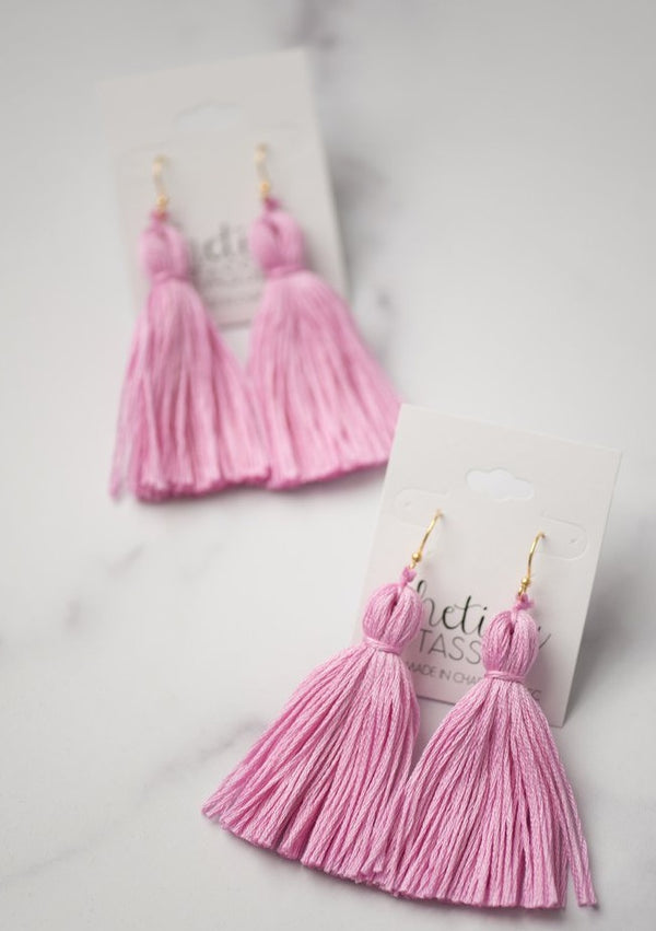 The Dorchester Tassel Earring