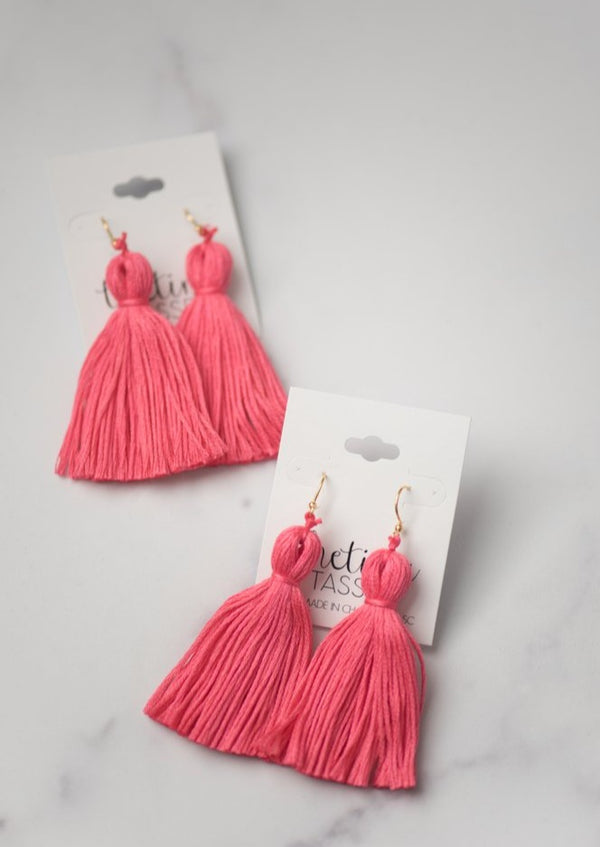 The Legare Tassel Earring