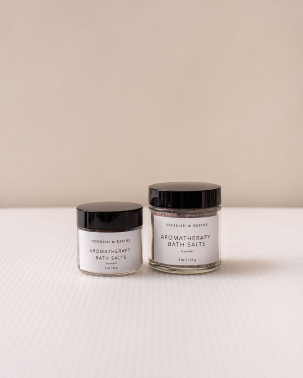 Aromatherapy Bath Salts-Nourish & Refine-For Now