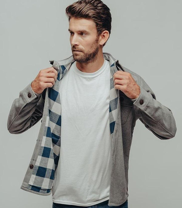 Brightside Flannel Lined Jacket-The Normal Brand-For Now