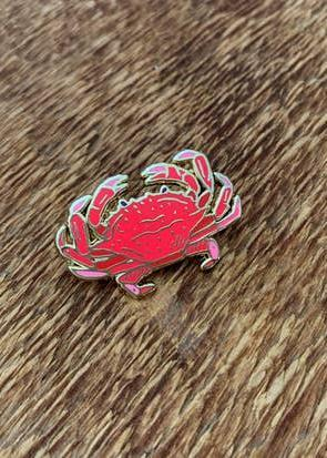 Crab Enamel Pin-Noteworthy Paper & Press-For Now
