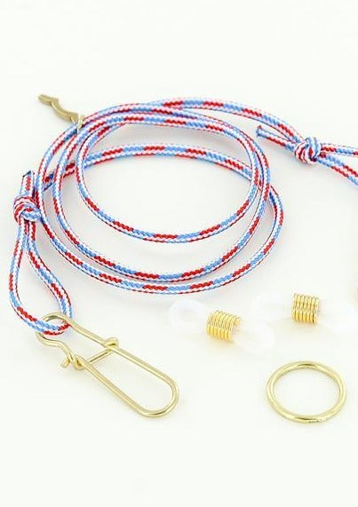 Nautical Rope Mask and Sunglasses Strap