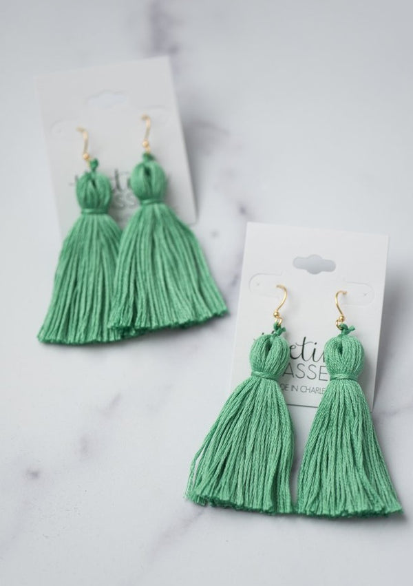 The Drake Tassel Earring