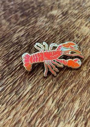 Lobster Enamel Pin-Noteworthy Paper & Press-For Now