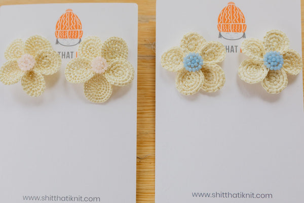 Louisa Earrings-Sh*t That I Knit-For Now