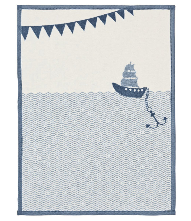 Mini Ahoy Matey Blanket-ChappyWrap-For Now