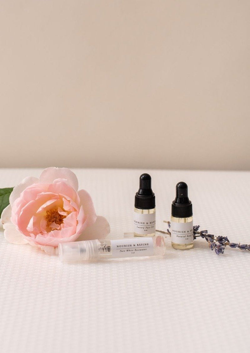 Mini Signature Skincare Set-Nourish & Refine-For Now