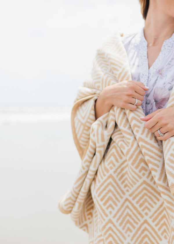 Oyster Cove Diamonds Blanket-ChappyWrap-For Now