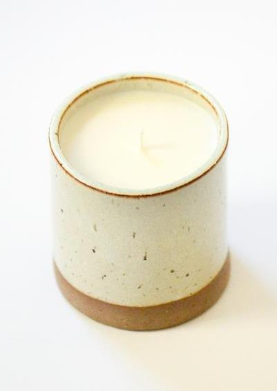 Porcelain + Stone Ceramic Candle By Noted Candles-Porcelain + Stone-For Now