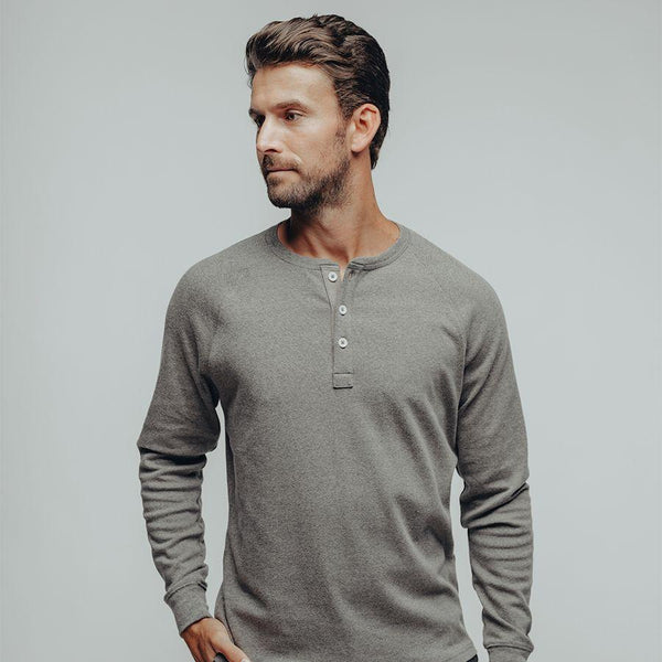 Puremeso Raglan Henley-The Normal Brand-For Now