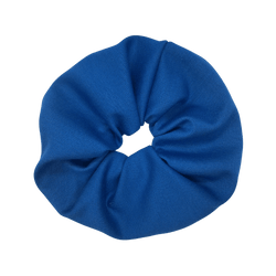 For Now Blue Jersey Scrunchie