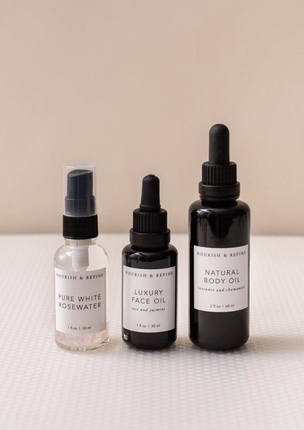 Signature Skincare Set-Nourish & Refine-For Now