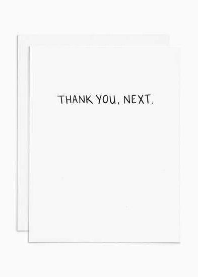 Thank You, Next Card-Frankie & Claude-For Now