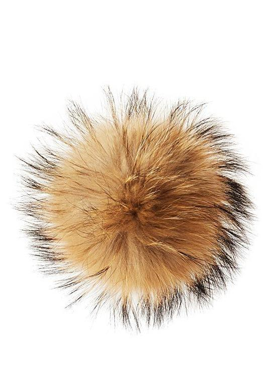 The Faux Fur Pom Pom-Sh*t That I Knit-For Now