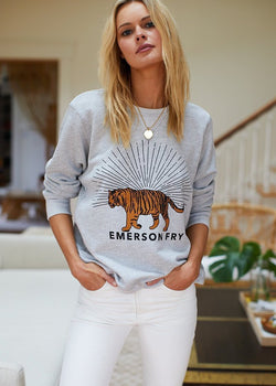Tiger Sweatshirt-Emerson Fry-For Now
