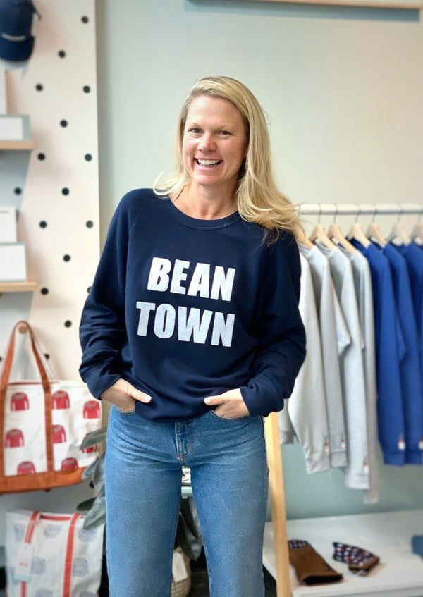 Unisex Bean Town Crew Neck-Paul Landry Co.-For Now