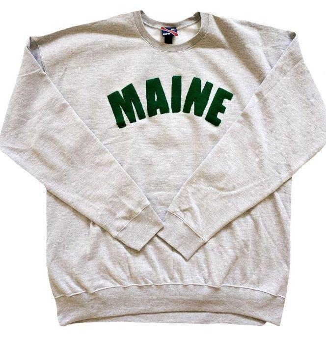 Unisex Mainer Crew Neck-Paul Landry Co.-For Now