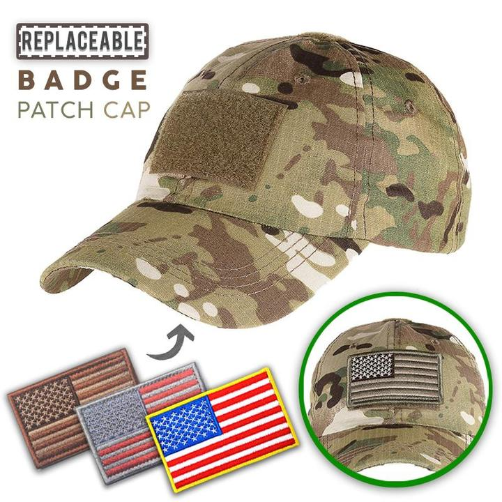 46f677a14 Replaceable Badge Patch Cap