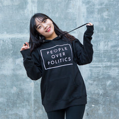 People Over Politics Pullover Hoodie