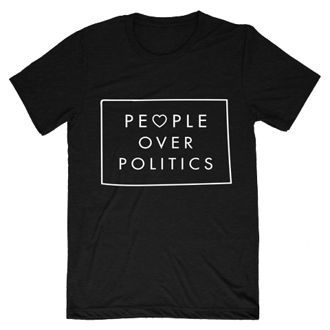 People over Politics T-Shirt