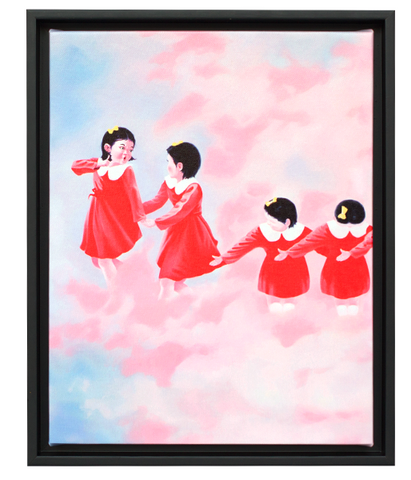 "Sun Mu: ""The Image of Korea (North)"" Canvas Print"