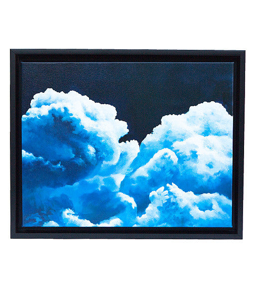"Sun Mu: ""Sinking Into the Mind"" Canvas Print"