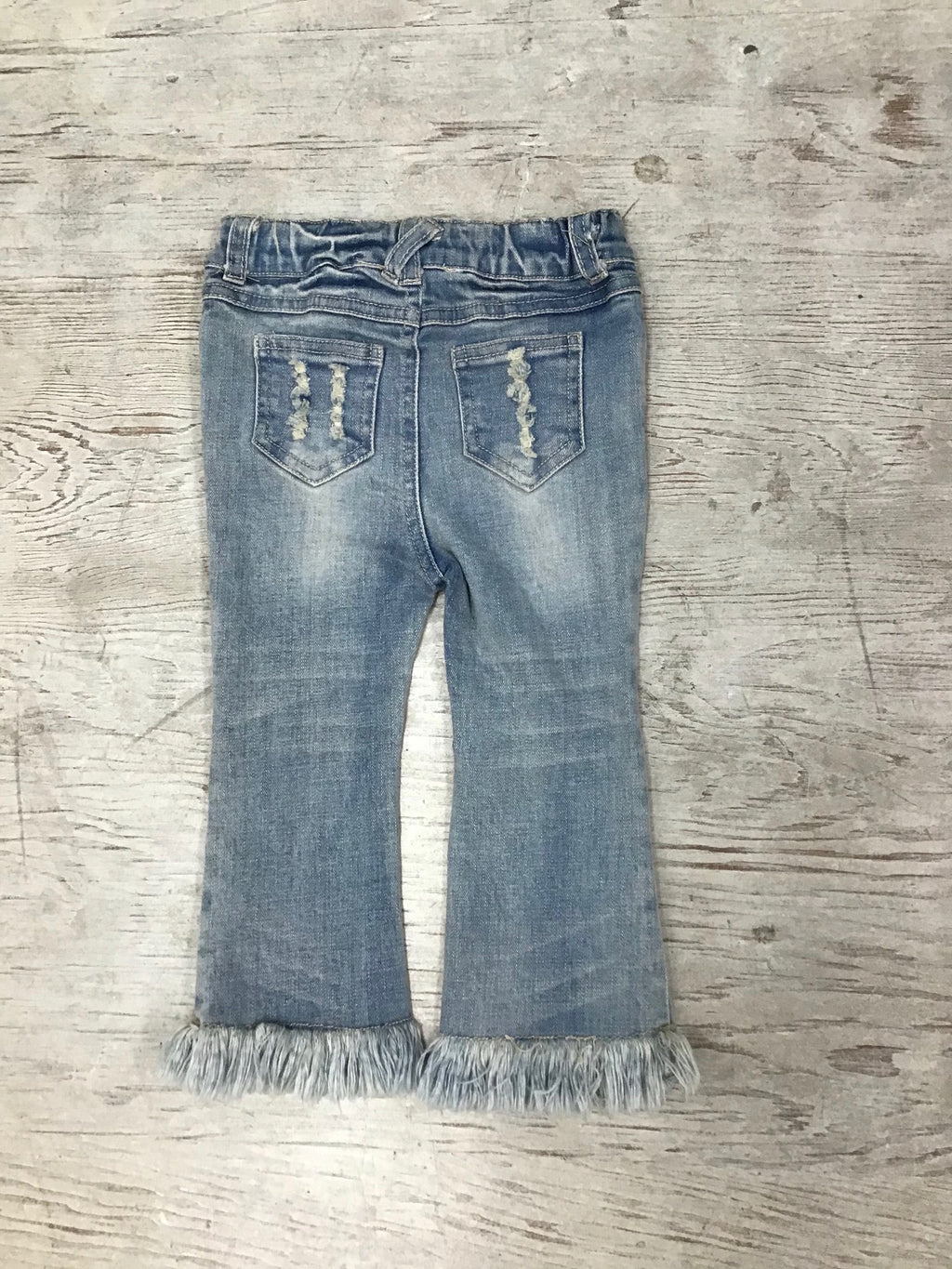 Baby Sara washed denim jeans
