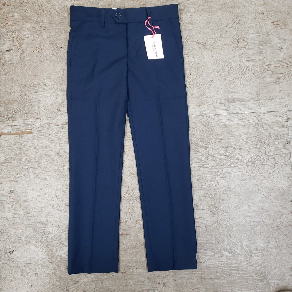 Isaac Mizrahi Navy Dress Pant