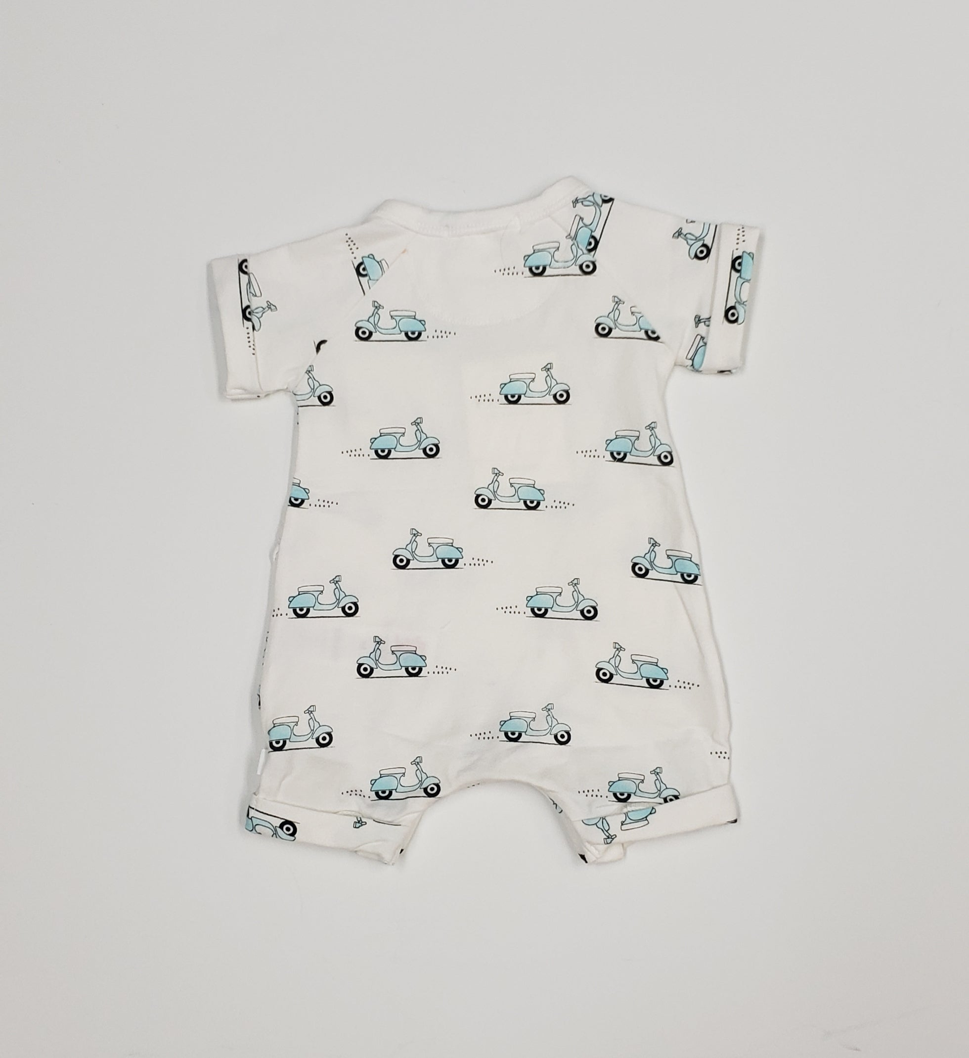 Baby boy shortall
