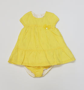 Baby girls dress with bloomers