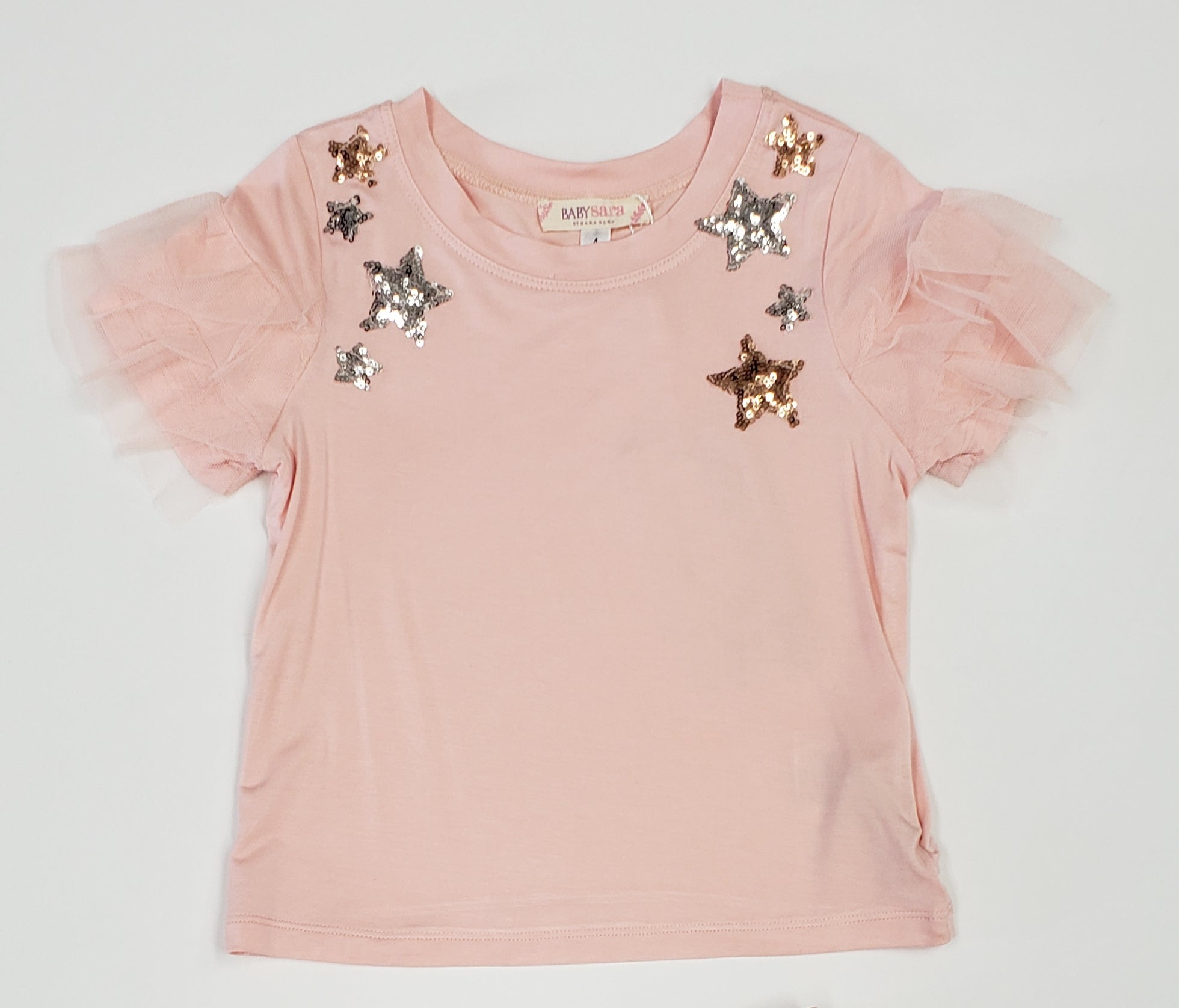 Girls pink top