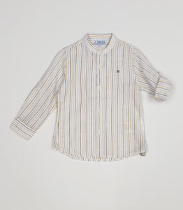 Boys Banded collar shirt