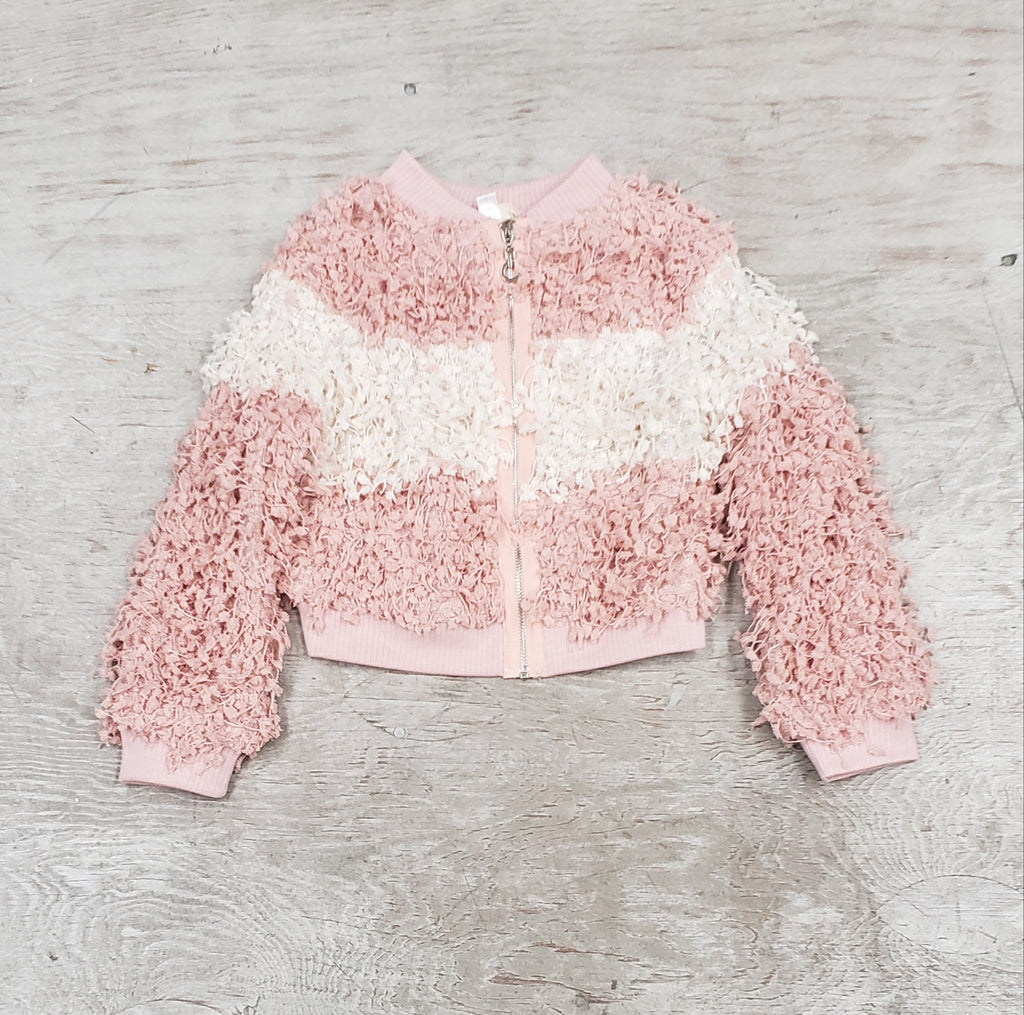 Girls Fluffy Jacket