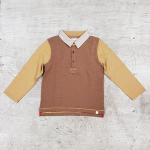 Boys all cotton rugby shirt